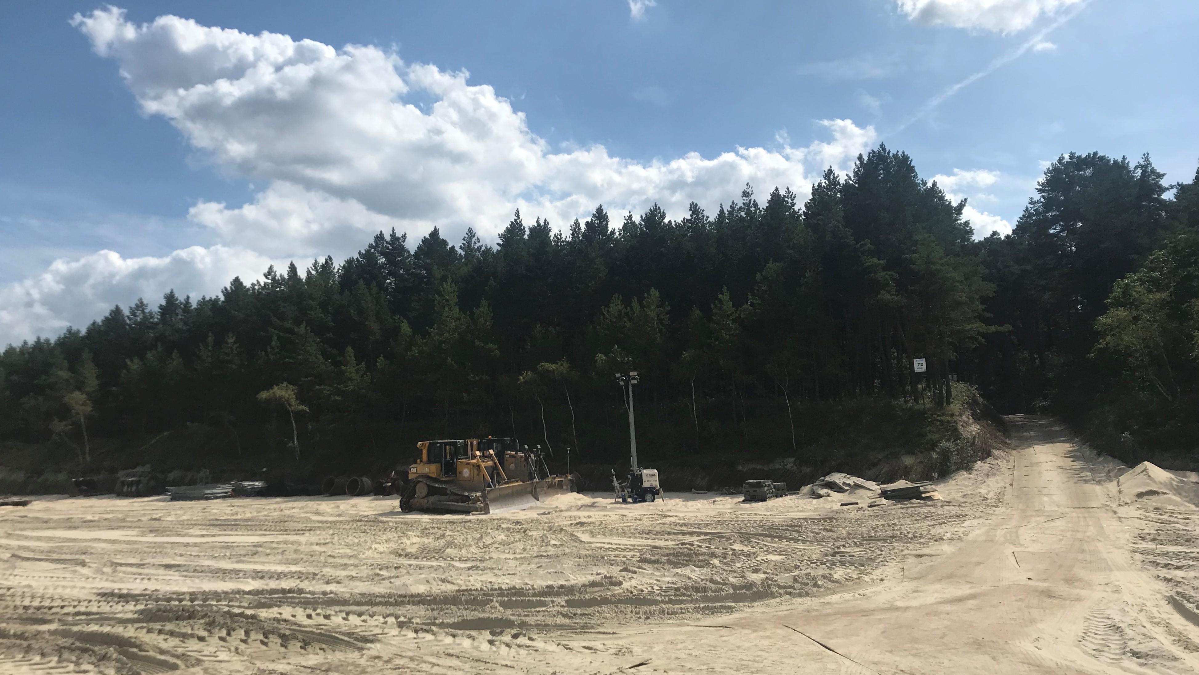 refulacja plaż w Sztutowie i Stegnie