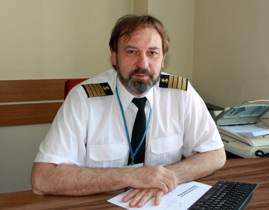 mgr inż. kpt. ż.w. Bogdan Rojek – Zastępca Dyrektora ds. Inspekcji Morskiej