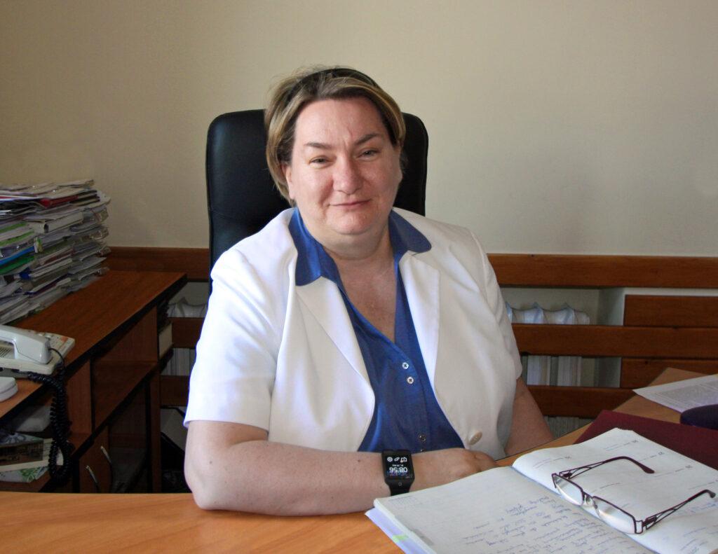 mgr inż. Anna Stelmaszyk – Świerczyńska zastępca Dyrektora Urzędu Morskiego w Gdyni ds. Technicznych