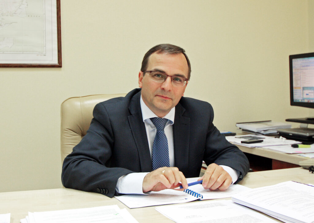 mgr inż. Jan Młotkowski zastępca Dyrektora Urzędu Morskiego w Gdyni ds. Oznakowania Nawigacyjnego