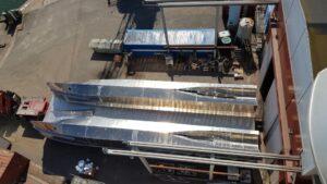Operacja odwracania kadłuba j. hydrograficznej
