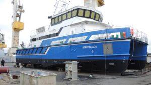 prace wykończeniowe - jednostka hydrograficzna