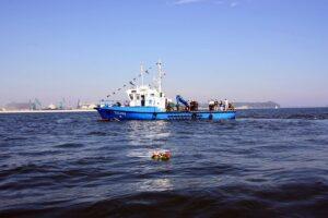 Statek Urzędu Morskiego w Gdyni TUCANA