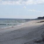 obszar objęty projektem przed realizacją - brzeg morski