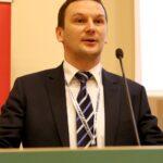Przemawia przedstawiciel Ministerstwa Gospodarki Morskiej i Żeglugi Śródlądowej, Pan Wojciech Zdanowicz, Z-ca Dyrektora Departamentu Gospodarki Morskiej.