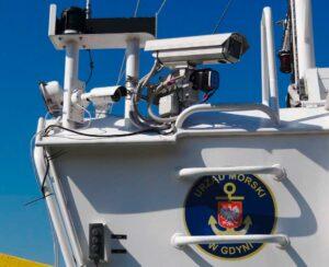 Kamera I-ALLOW zainstalowana na pokładzie jednostki Urzędu Morskiego w Gdyni - Kontlorer-20