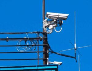 Kamera I-ALLOW zainstalowana na wieży Kapitanatu Portu Gdynia
