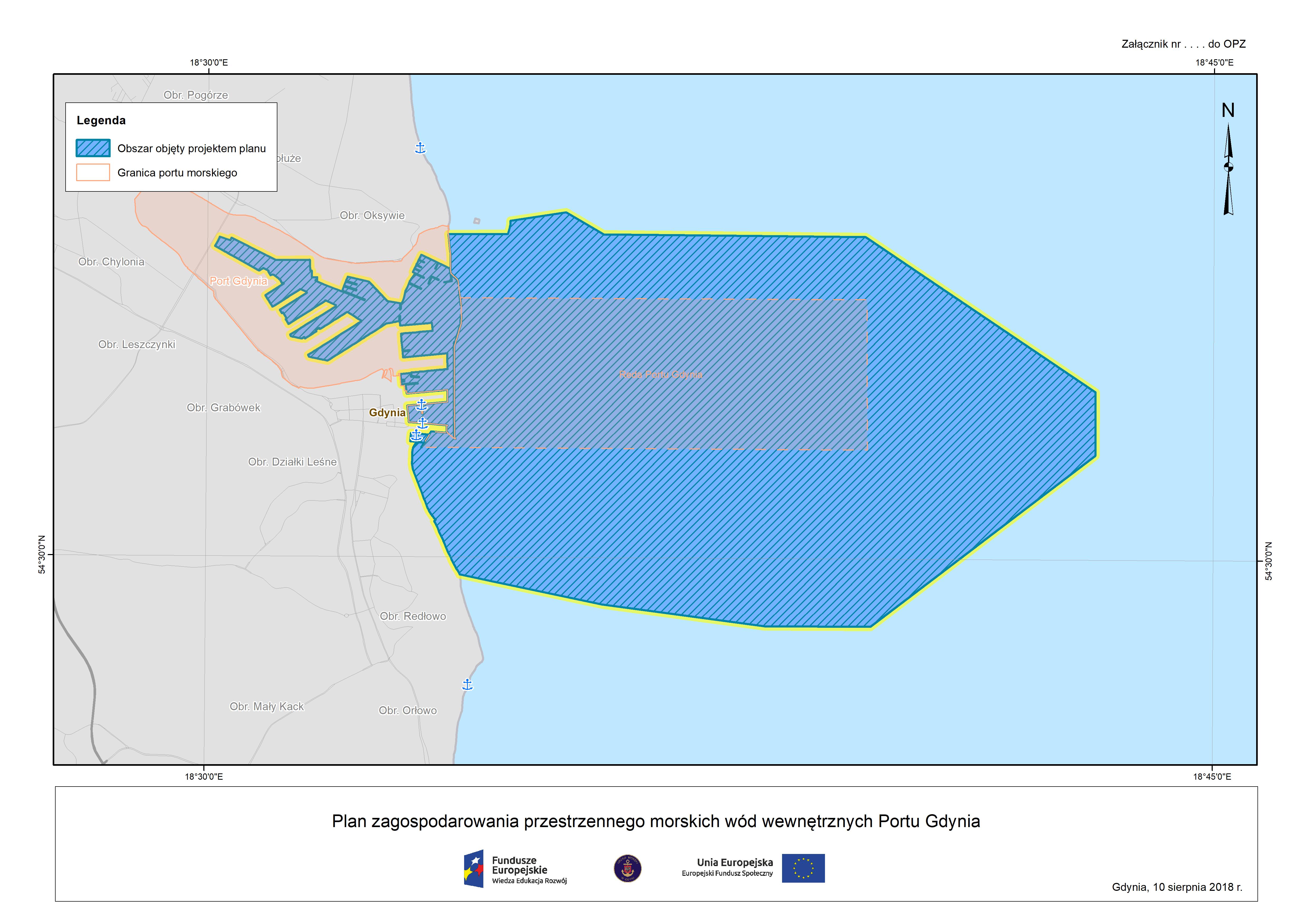 Plan zagospodarowania przestrzennego morskich wód wewnętrznych Portu Gdynia