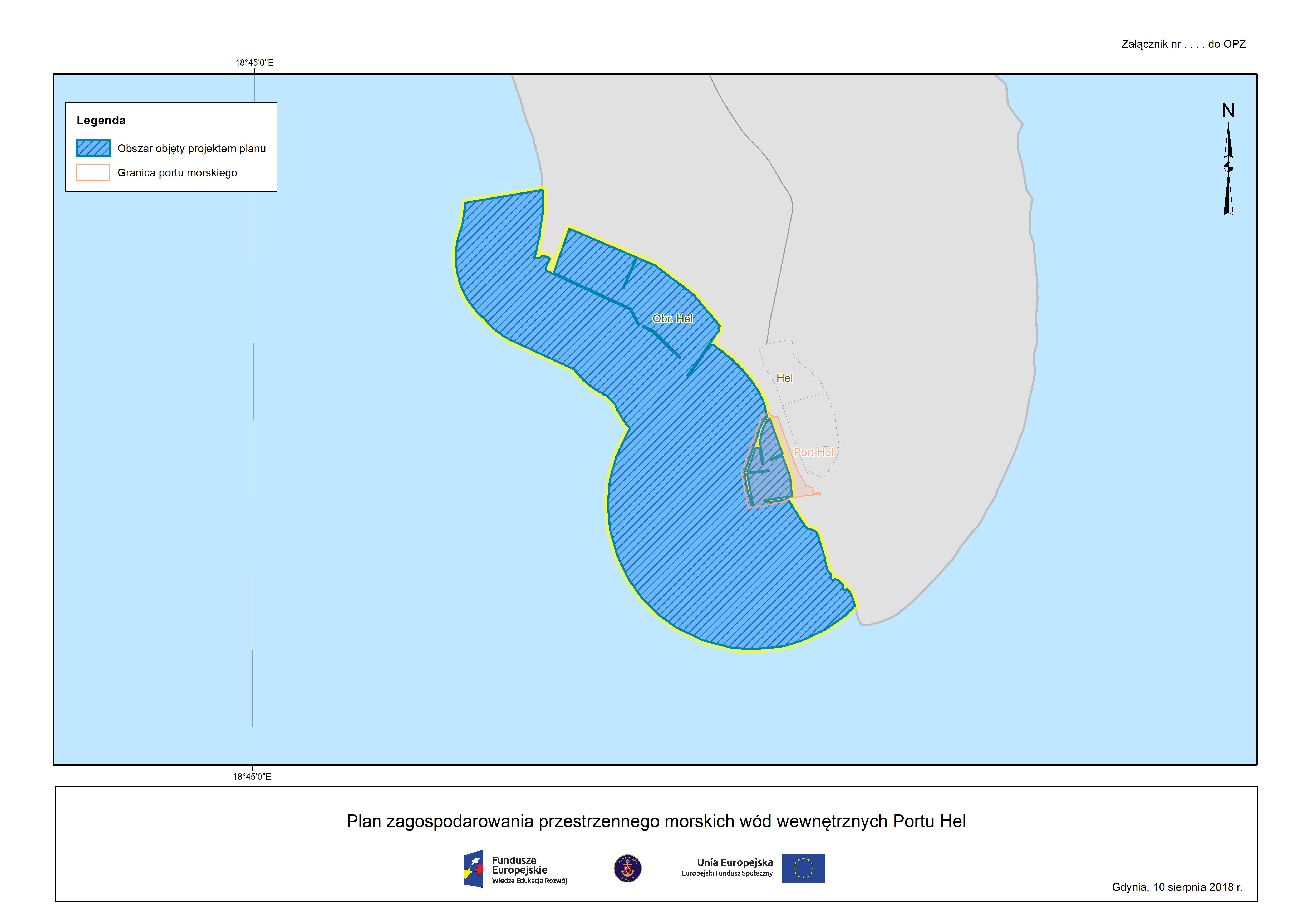 Plan zagospodarowania przestrzennego morskich wód wewnętrznych Portu Hel