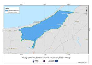 obszar objęty planami zagospodarowania przestrzennego dla Zalewu Wiślanego