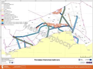 Infrastruktura liniowa - mapa