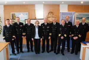 Podpisanie planów współpracy BHMW MOSG Urzędy Morskie