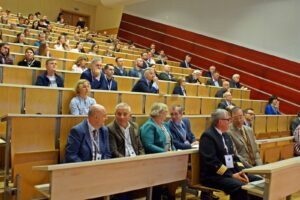 Uczestnicy VII Ogólnopolskiej Konferencji Prawa Morskiego