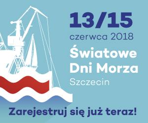 Plakat Światowych Dni Morza 2018