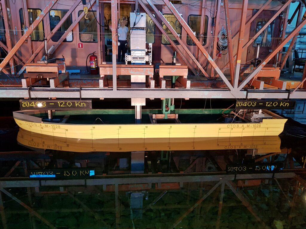Model jednostki w basenie CTO