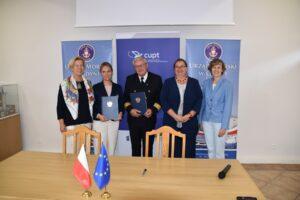 Podpisanie umowy falochrony Gdańsk 1