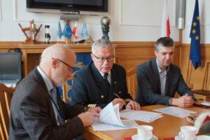 podpisanie umowy GMDSS-PL 2
