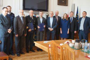 podpisanie umowy GMDSS-PL