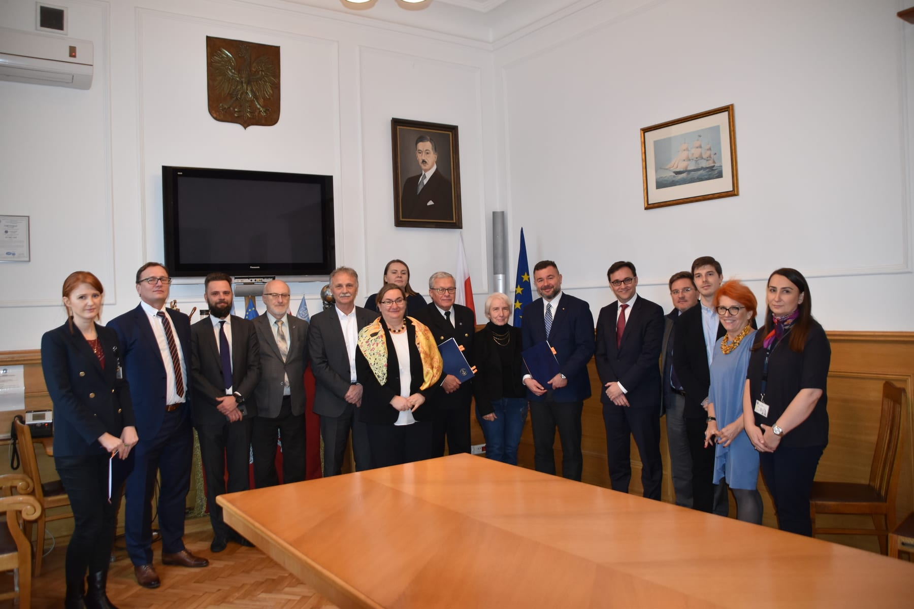 Modernizacja układu falochronów osłonowych w Porcie Północnym w Gdańsku – podpisanie umowy 2