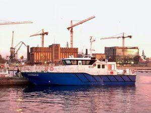 Kontroler 22 - jednostka inspekcyjna po dopłynięciu do Gdyni