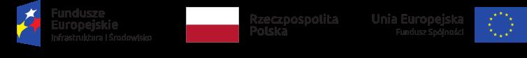 Logotyp do Programu Operacyjnego Infrastruktura i Środowisko 2014 – 2020