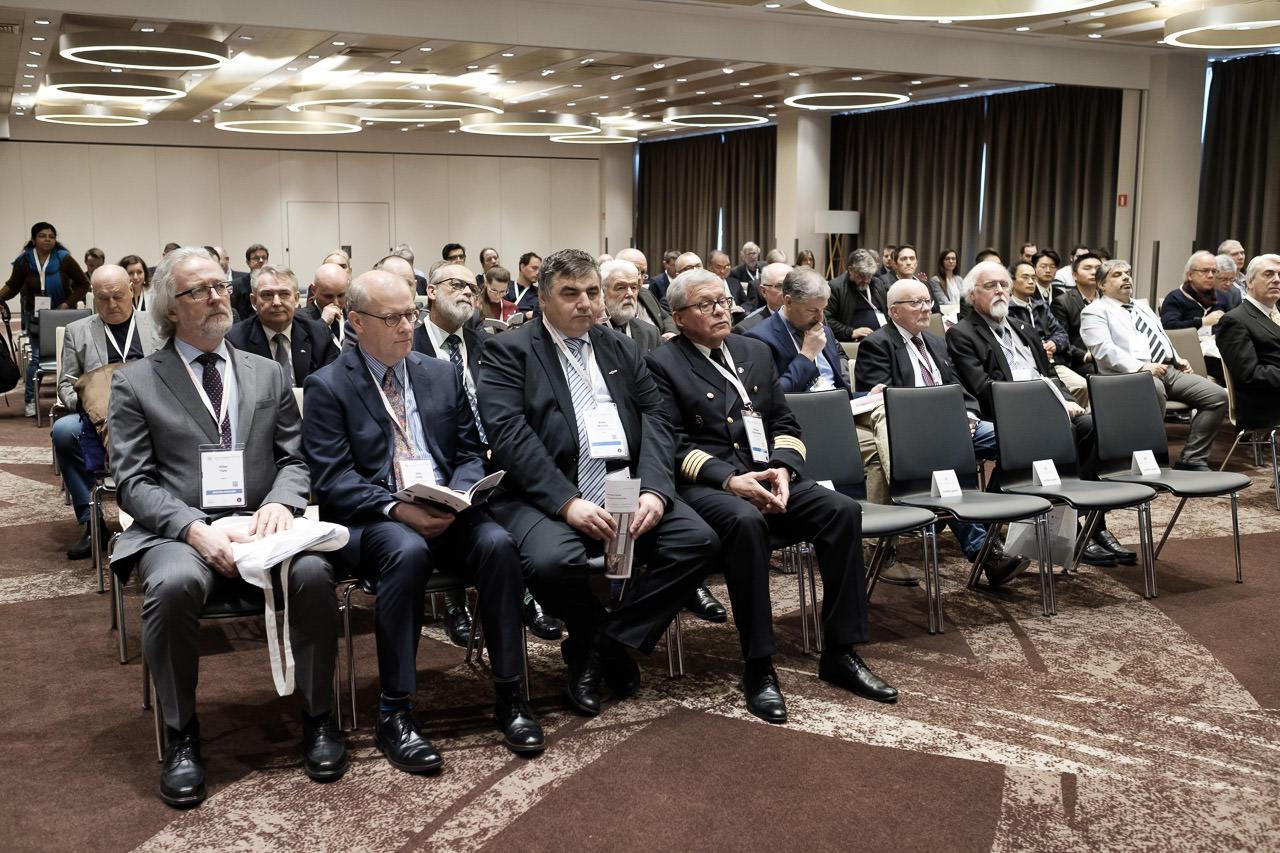 Dyrektor Urzędu Morskiego w Gdyni na otwarciu konferencji ENC2019