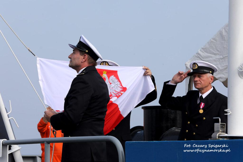 Podniesienie bandery ZODIAK II