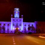 Siedziba główna Urzędu Morskiego w Gdyni na niebiesko fot. 1